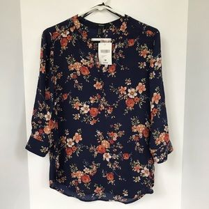 NWT - Floral Blouse